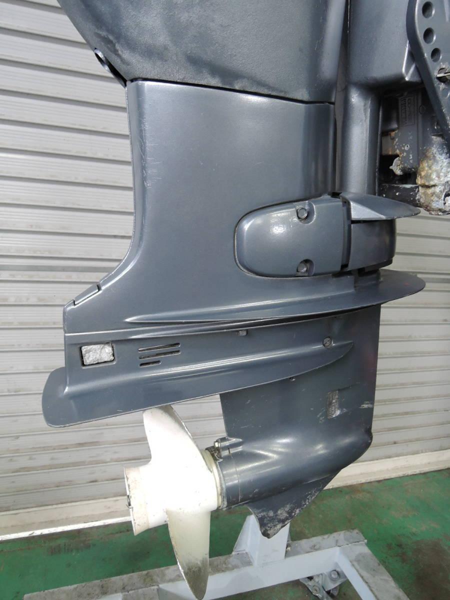 エンジン始動OK YAMAHA ヤマハ 船外機 60馬力 4スト バーハンドル M910416 スズキ トーハツ ホンダ 30 40 50 70 80 90_画像7