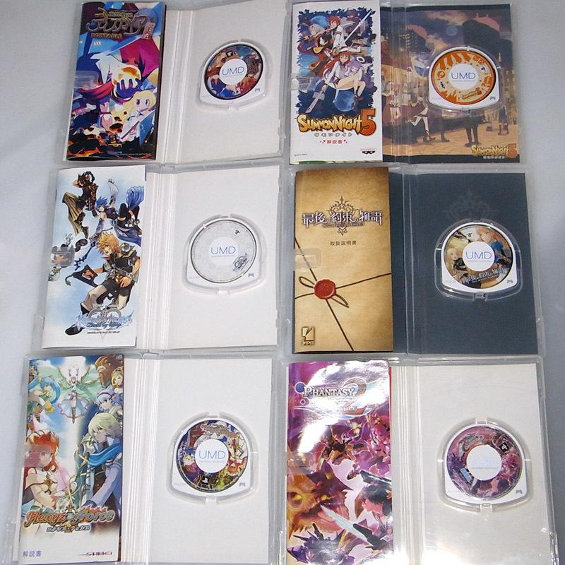 PSPソフト6本セット ディスガイア サモンナイト キングダムハーツ 最後の約束の物語 エクシズ・フォルス ファンタシースター2_画像3