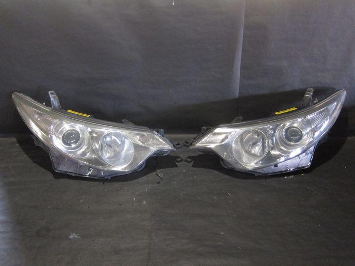(L580) エスティマ50系 前期型 HIDライト ガラスコート済み_画像1