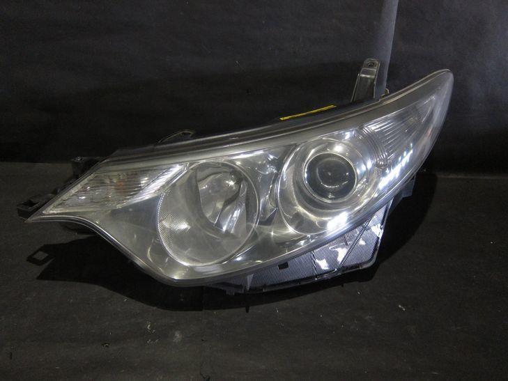 (L580) エスティマ50系 前期型 HIDライト ガラスコート済み_画像4