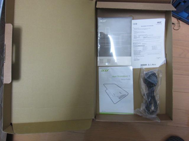 美品、海外製Chromebook 15 cb3-532-c1zk、おまけつき!_画像9