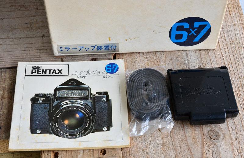 ペンタックス PENTAX 67 TTL 中判 フィルムカメラ 箱、説明書付き_画像2
