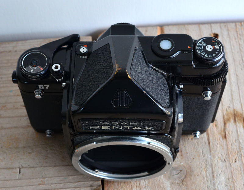 ペンタックス PENTAX 67 TTL 中判 フィルムカメラ 箱、説明書付き_画像5