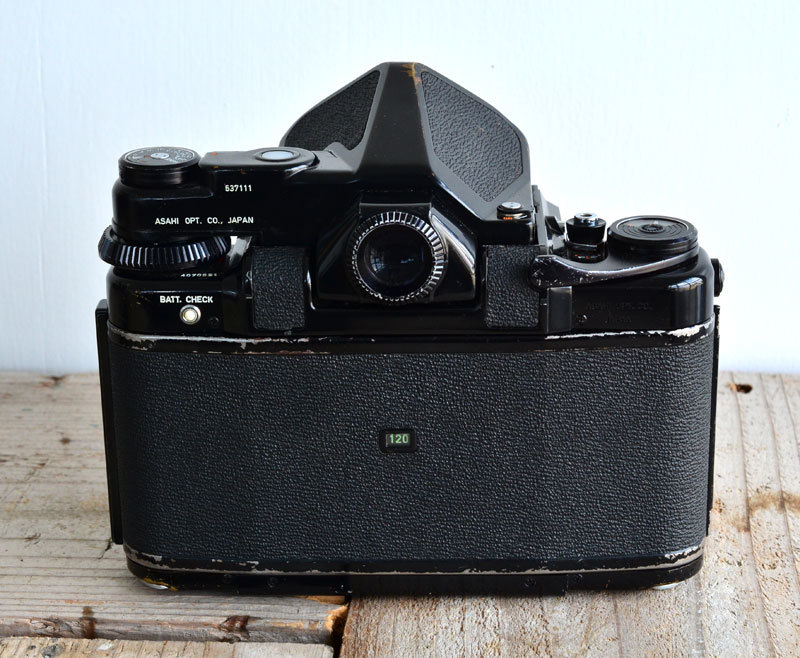 ペンタックス PENTAX 67 TTL 中判 フィルムカメラ 箱、説明書付き_画像7