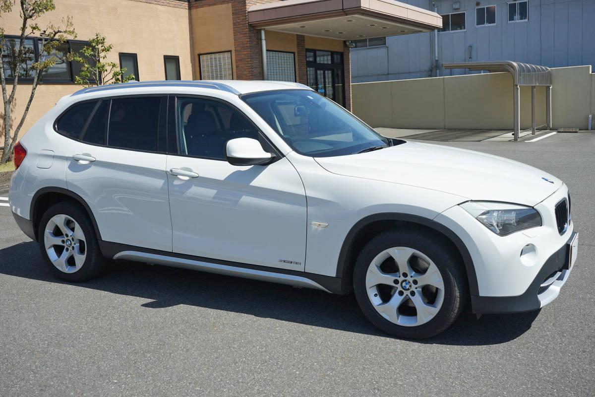 美車 BMW X1 sDrive18i Xライン 純正i-driveナビ 23年 車検32年8月 実走行9.9万キロ 修復歴なし 禁煙車 売切り _画像2