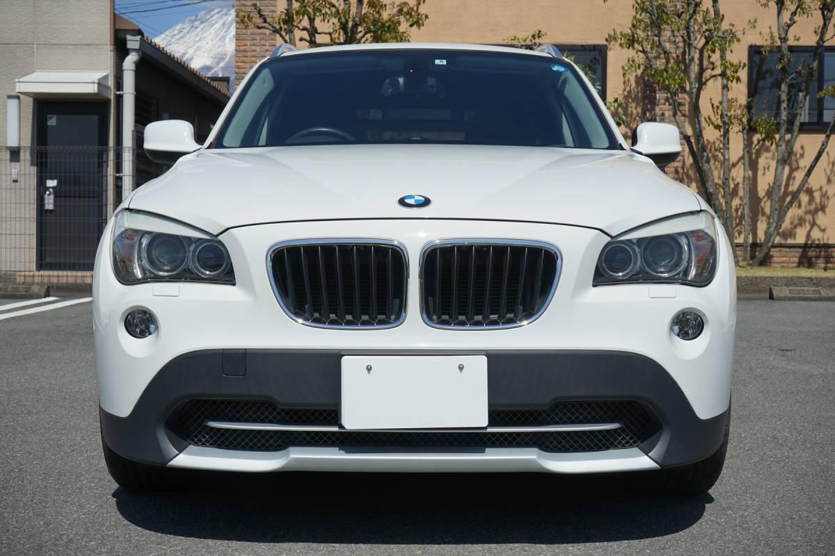 美車 BMW X1 sDrive18i Xライン 純正i-driveナビ 23年 車検32年8月 実走行9.9万キロ 修復歴なし 禁煙車 売切り _画像3