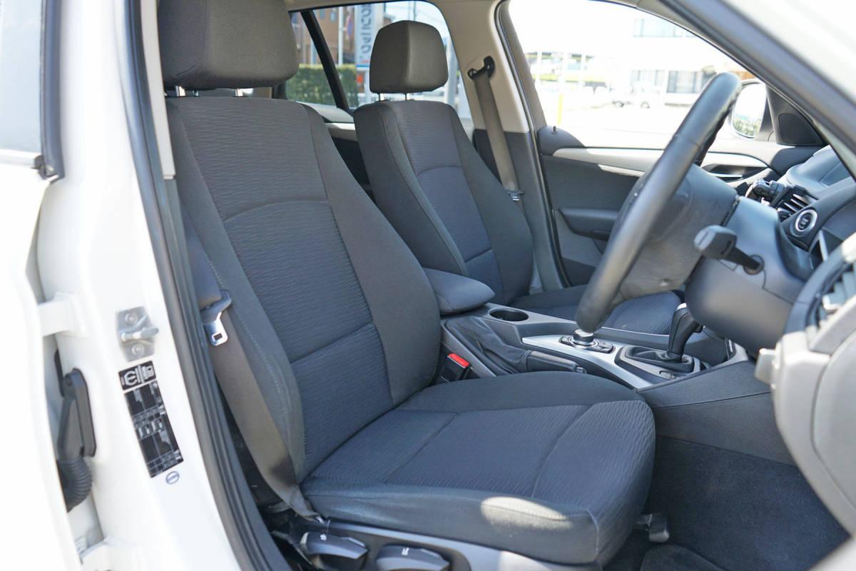 美車 BMW X1 sDrive18i Xライン 純正i-driveナビ 23年 車検32年8月 実走行9.9万キロ 修復歴なし 禁煙車 売切り _画像7