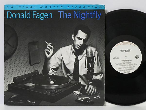 MFSL高音質盤!! 不朽のAOR名盤 Steely Danメンバー 1stソロ 美盤 ★ Donald Fagen / The Nightfly