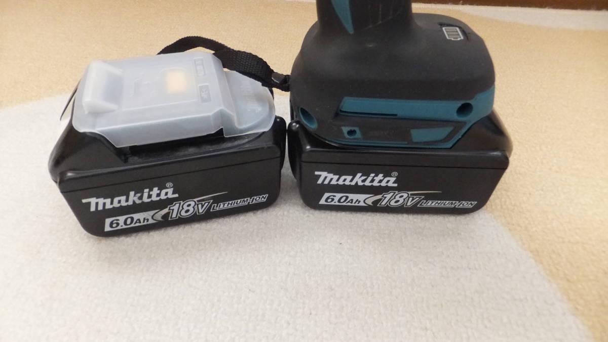 ■マキタ 充電式ドライバドリル HP481D 18V 電池2個付き■_画像5