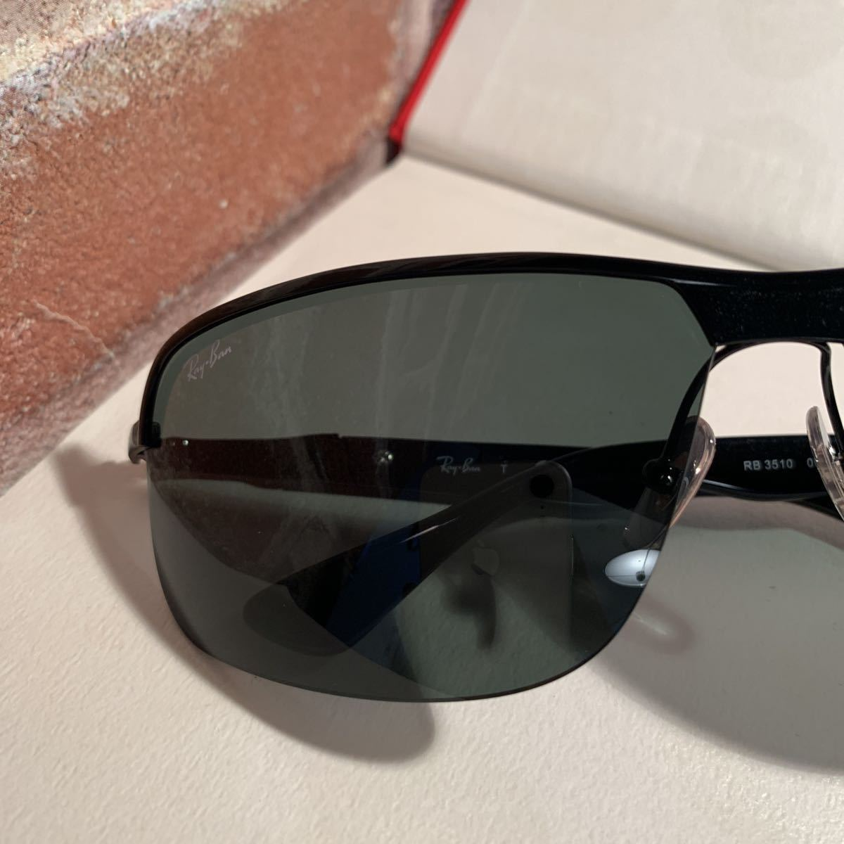 RayBanレイバン RB3510 002/71 65サイズ メンズ サングラス 眼鏡_画像3