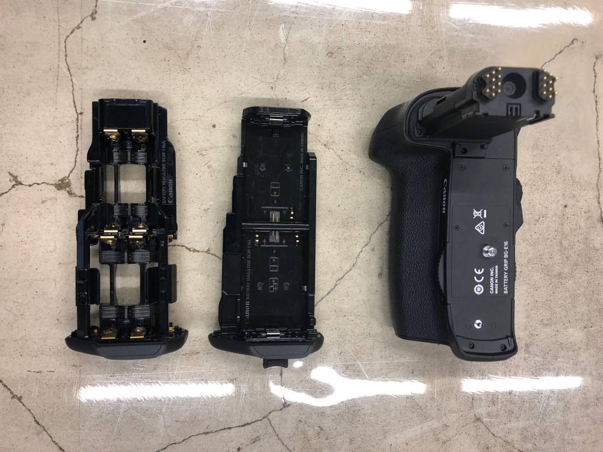 Canon EOS 7D Mark II キャノン 本体 + 純正アクセサリー一式_画像7