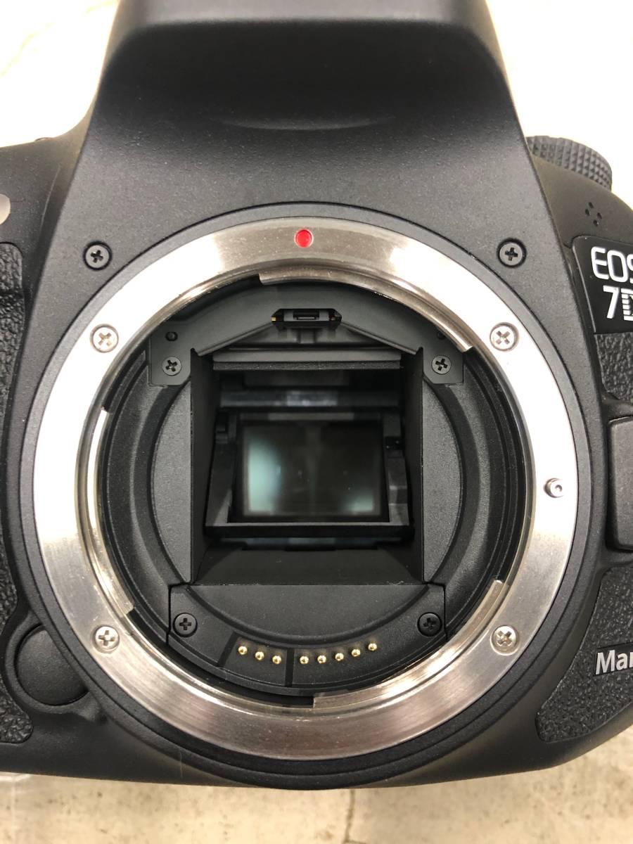 Canon EOS 7D Mark II キャノン 本体 + 純正アクセサリー一式_画像9