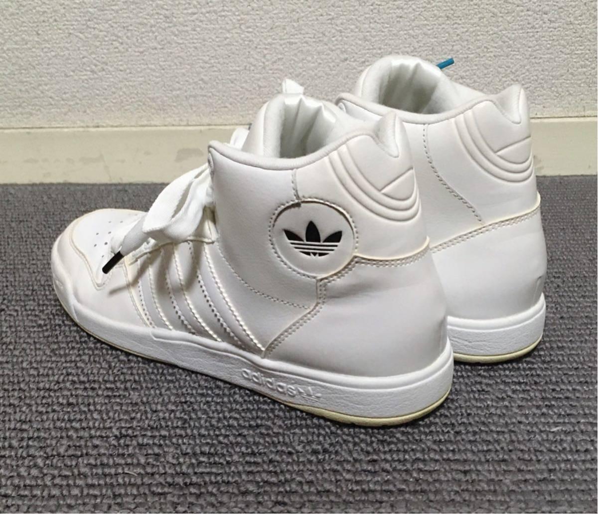 【極美品】adidas ハイカットスニーカー 白 23.5 アディダス_画像8