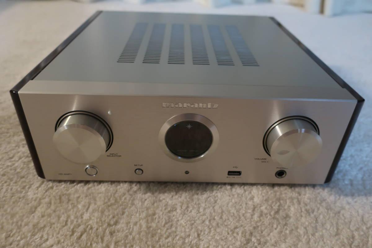 marantz プリメインアンプ ハイレゾ音源対応/USB-DAC シルバーゴールド HD-AMP1
