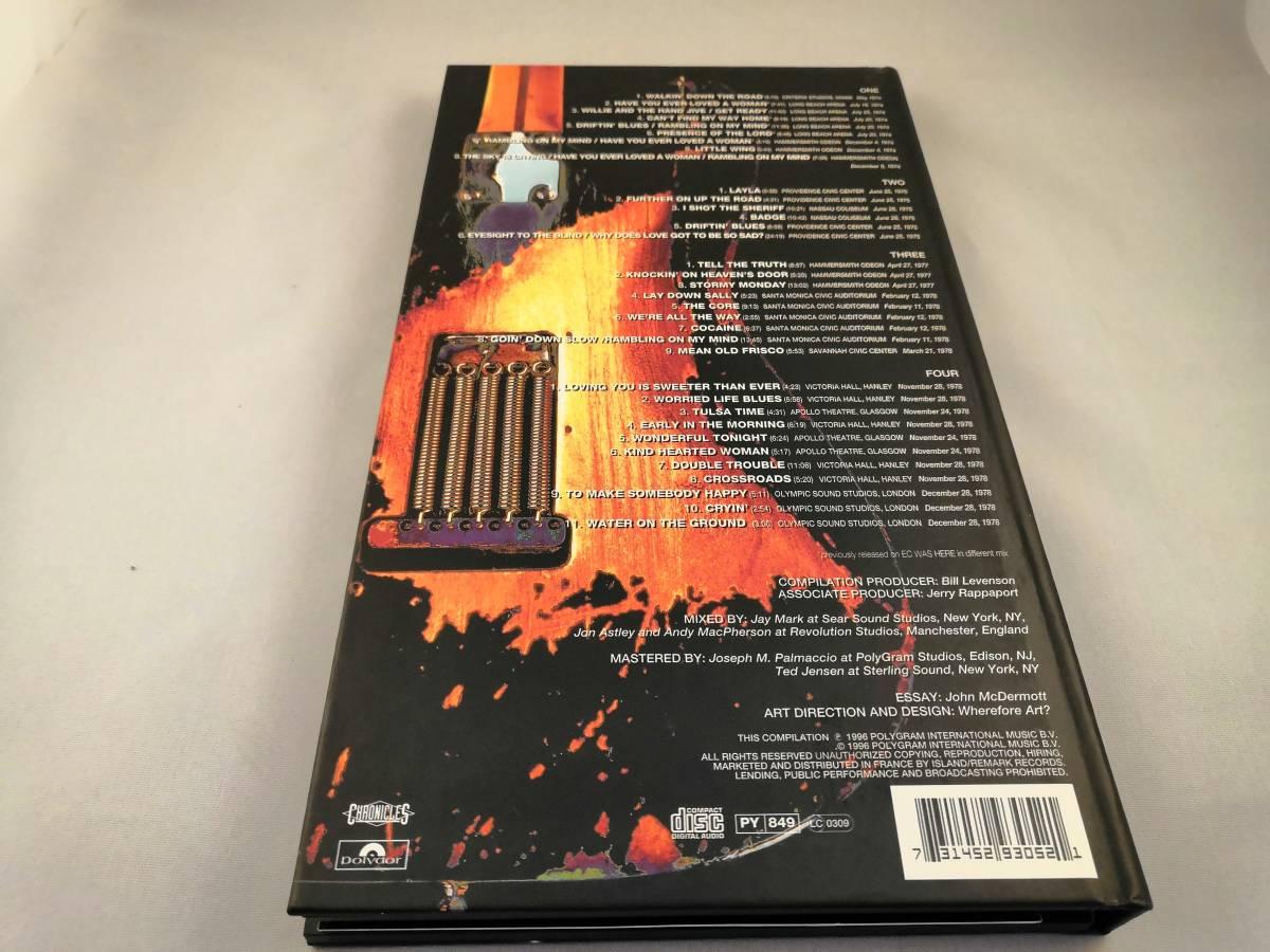 【中古・国内盤】アンソロジー 2 : ライヴ・イン・セヴンティーズ ~Crossroads 2 エリック・クラプトン 4CD【送料無料・宅急便60】_画像2