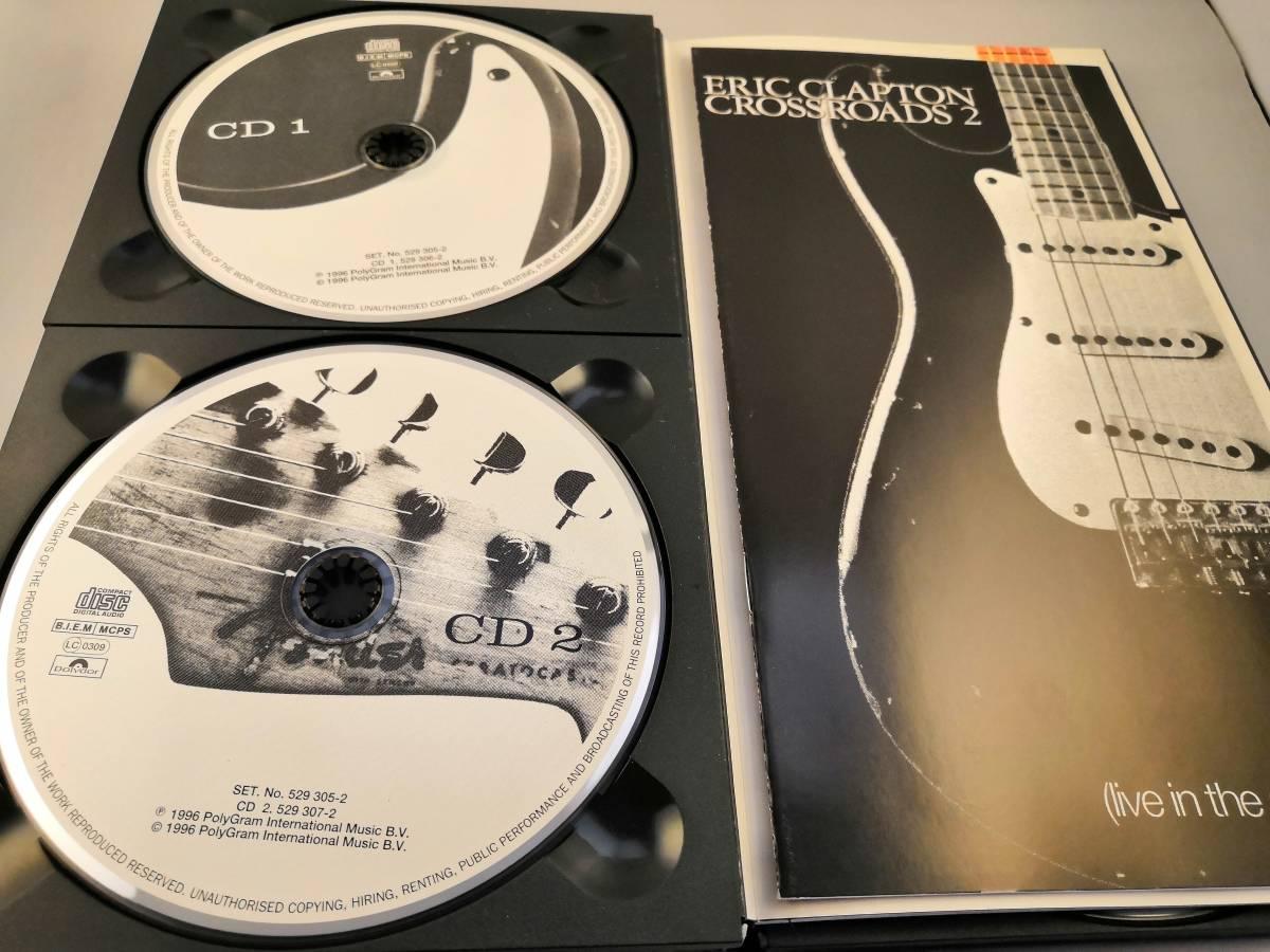 【中古・国内盤】アンソロジー 2 : ライヴ・イン・セヴンティーズ ~Crossroads 2 エリック・クラプトン 4CD【送料無料・宅急便60】_画像3