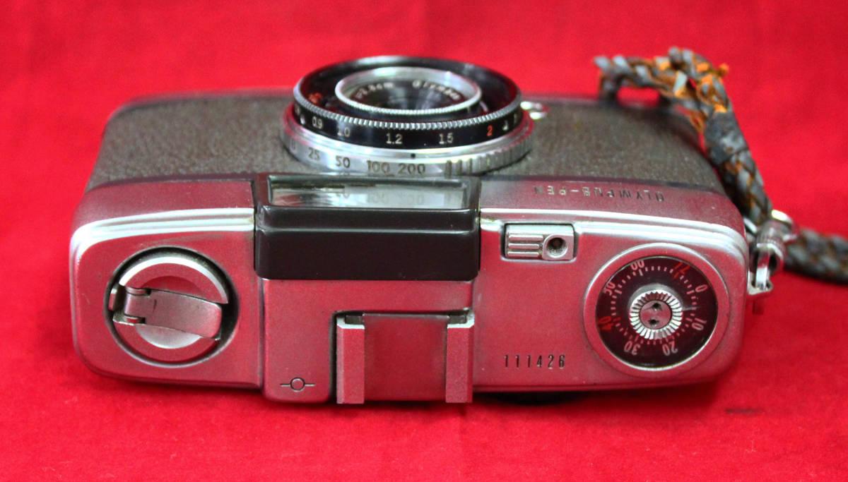 【OLYMPUS】 OLYMPUS-PEN オリンパス-ペン 初期フイルムカメラ貴重_画像3