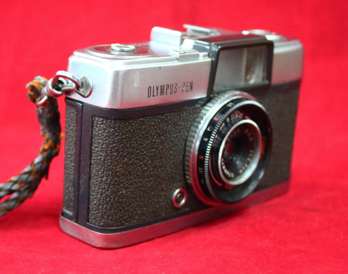 【OLYMPUS】 OLYMPUS-PEN オリンパス-ペン 初期フイルムカメラ貴重_画像6