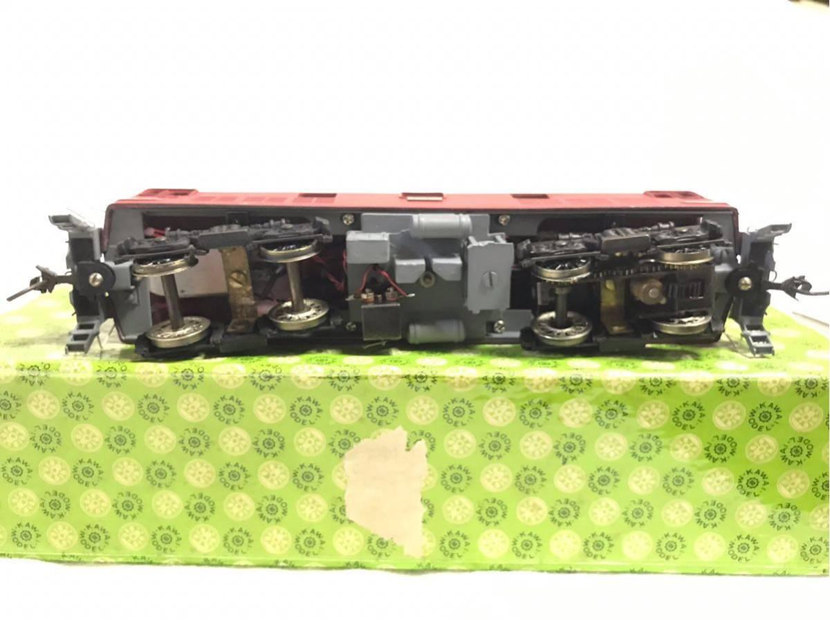 50◆ 年代物希少品【KAWAI MODEL カワイモデル!】HOゲージ/鉄道模型 ED-911 FIN /2288!動作確認済み!中古極美品 箱付き_画像8