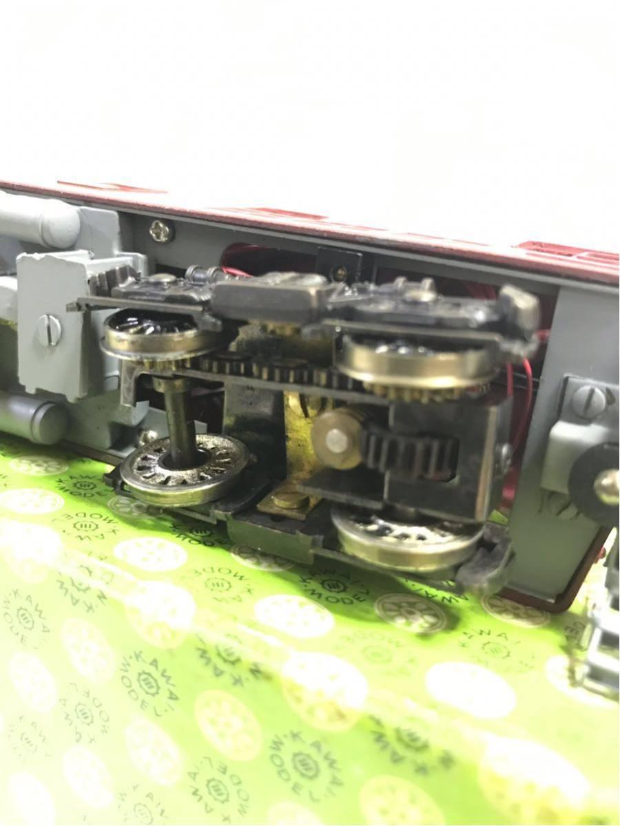 50◆ 年代物希少品【KAWAI MODEL カワイモデル!】HOゲージ/鉄道模型 ED-911 FIN /2288!動作確認済み!中古極美品 箱付き_画像9