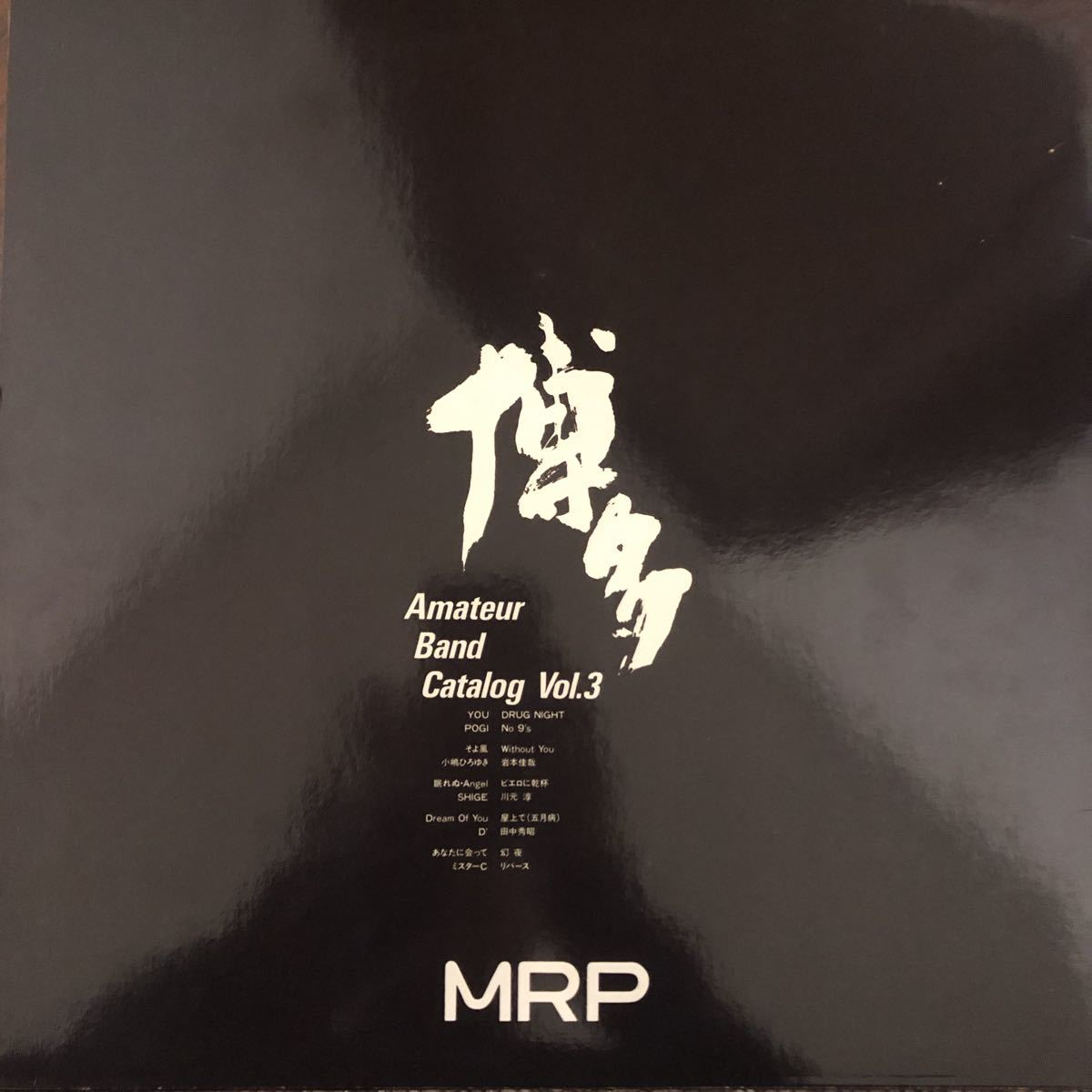 【厳選LP】エロジャケ! 和モノ 自主制作 超希少盤 博多 amateur band catalog vol.3 MURO XXXL boogie disco breakbeats fusion MRP_画像2