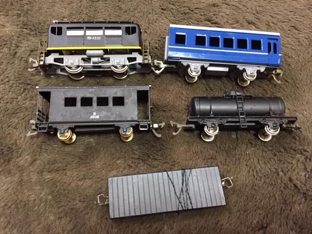 現状品 鉄道 HOゲージ KTM KATSUMI 線路 レール 電気機関車セット_画像4