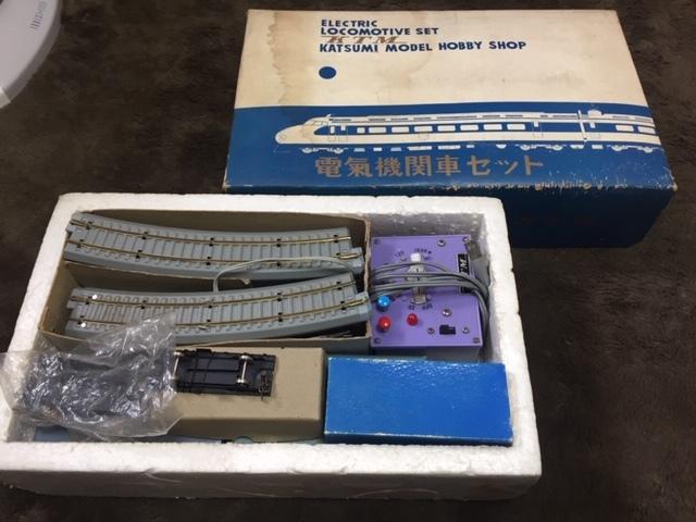 現状品 鉄道 HOゲージ KTM KATSUMI 線路 レール 電気機関車セット