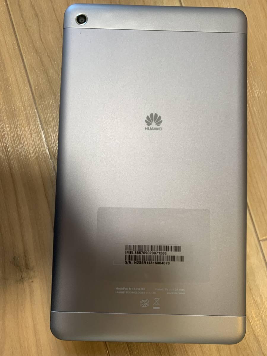 美品【SIMフリー】【中古】HUAWEI MediaPad M1 8.0 LTEモデル(S8-304L)_画像2