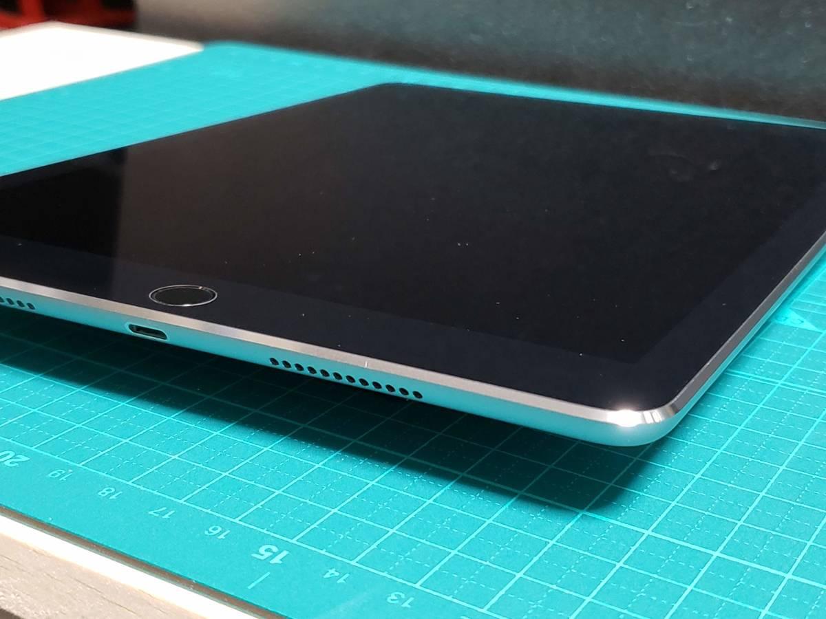極上美品■送料無料■au iPad Pro 9.7インチ 32GB WiFi+Cellular MLPW2J/A スペースグレイ★SIMロック解除済■SIMフリー■クリーニング済8_画像4