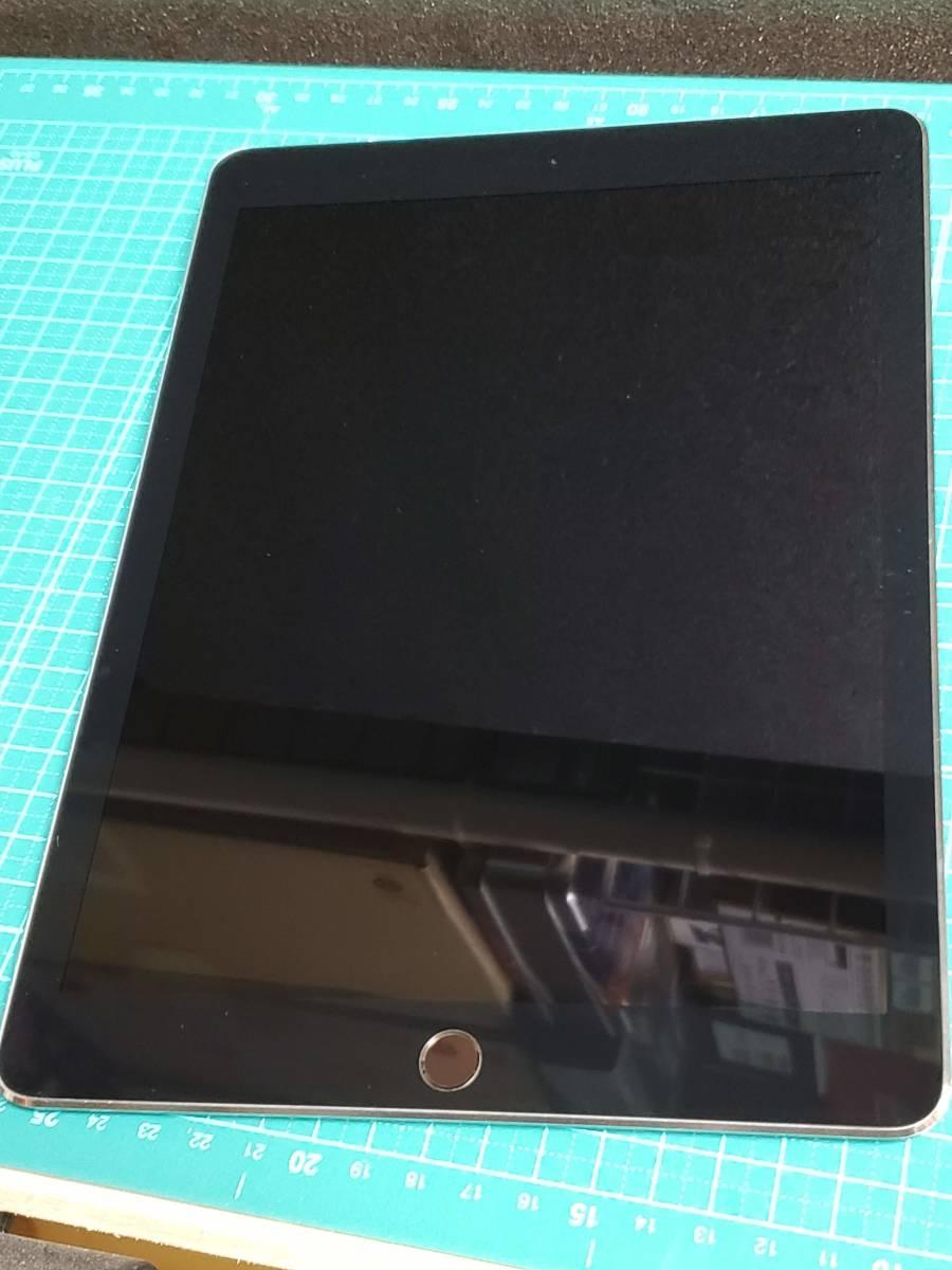 極上美品■送料無料■au iPad Pro 9.7インチ 32GB WiFi+Cellular MLPW2J/A スペースグレイ★SIMロック解除済■SIMフリー■クリーニング済8_画像3