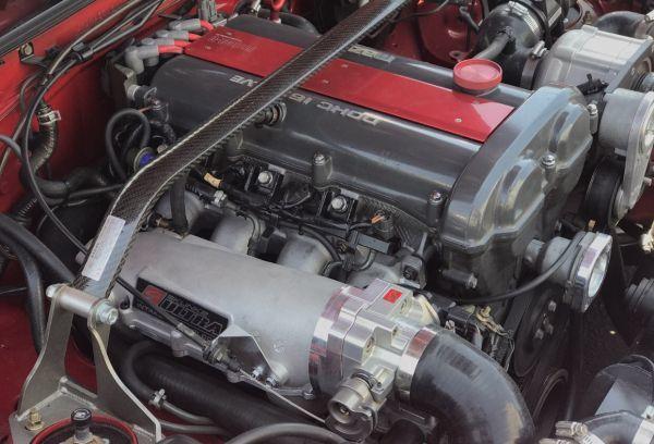 30PS上昇! NA NB ロードスター 大容量 インテークマニホールド インマニ シート マフラー エキマニ ホイール バンパー 車高調 スロットル_画像6