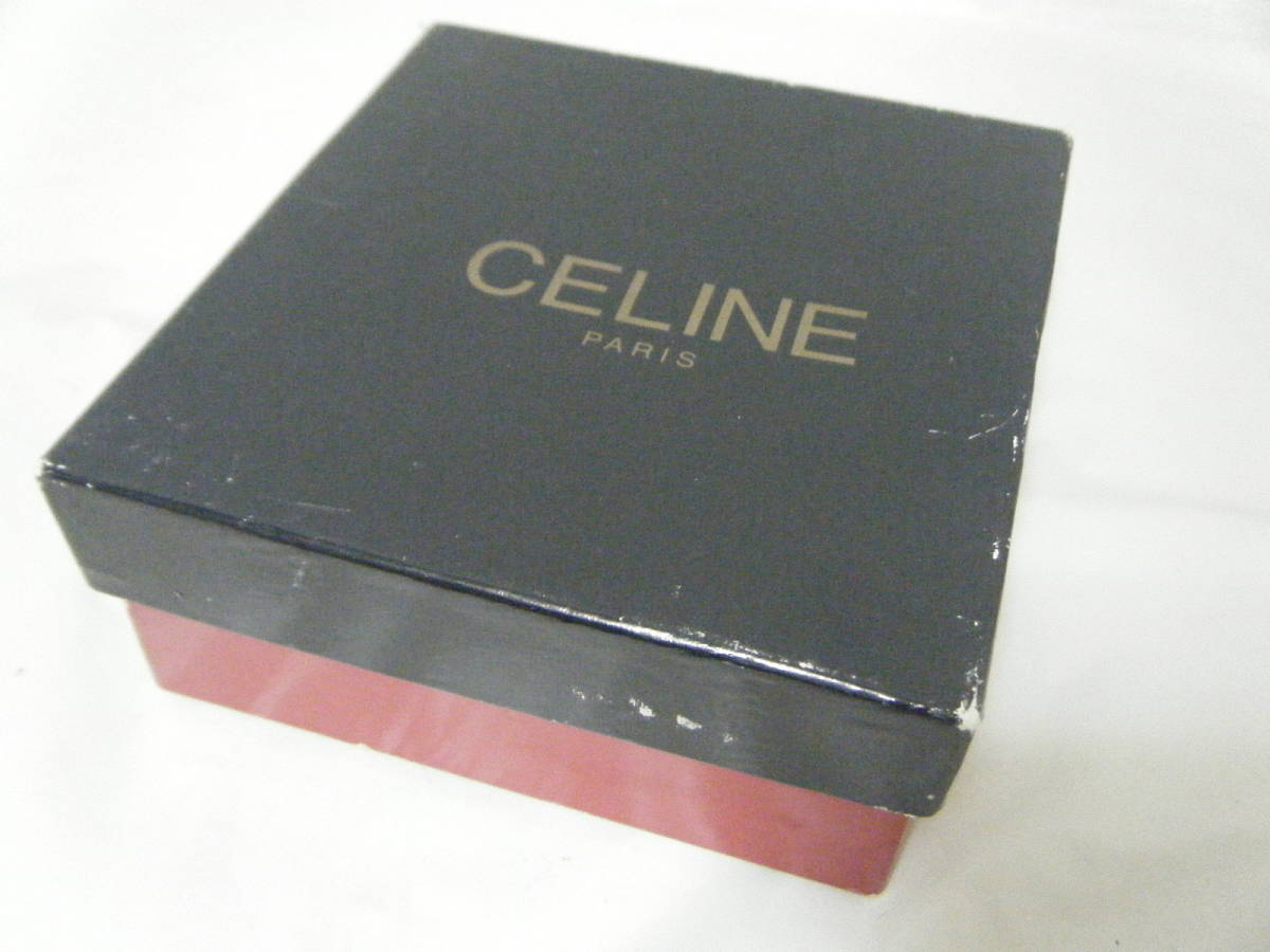 CELINE セリーヌ レザー レザーベルト イタリア製 85 未使用品_画像5
