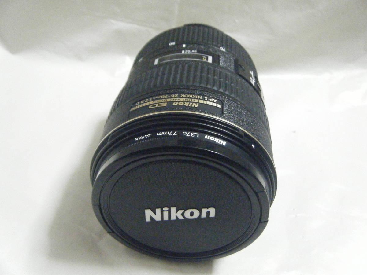 Nikon ニコン ED AF-S NIKKOR 28-70mm 1:2.8 D カメラレンズ_画像2