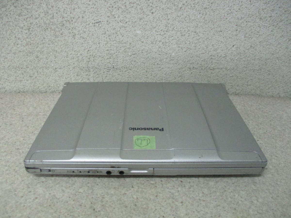 77★☆Panasonic Let's note CF-N10(CF-N10EWGDS) Core i5 2540M 2.6GHz/4GB/320GB ジャンク☆★_画像3