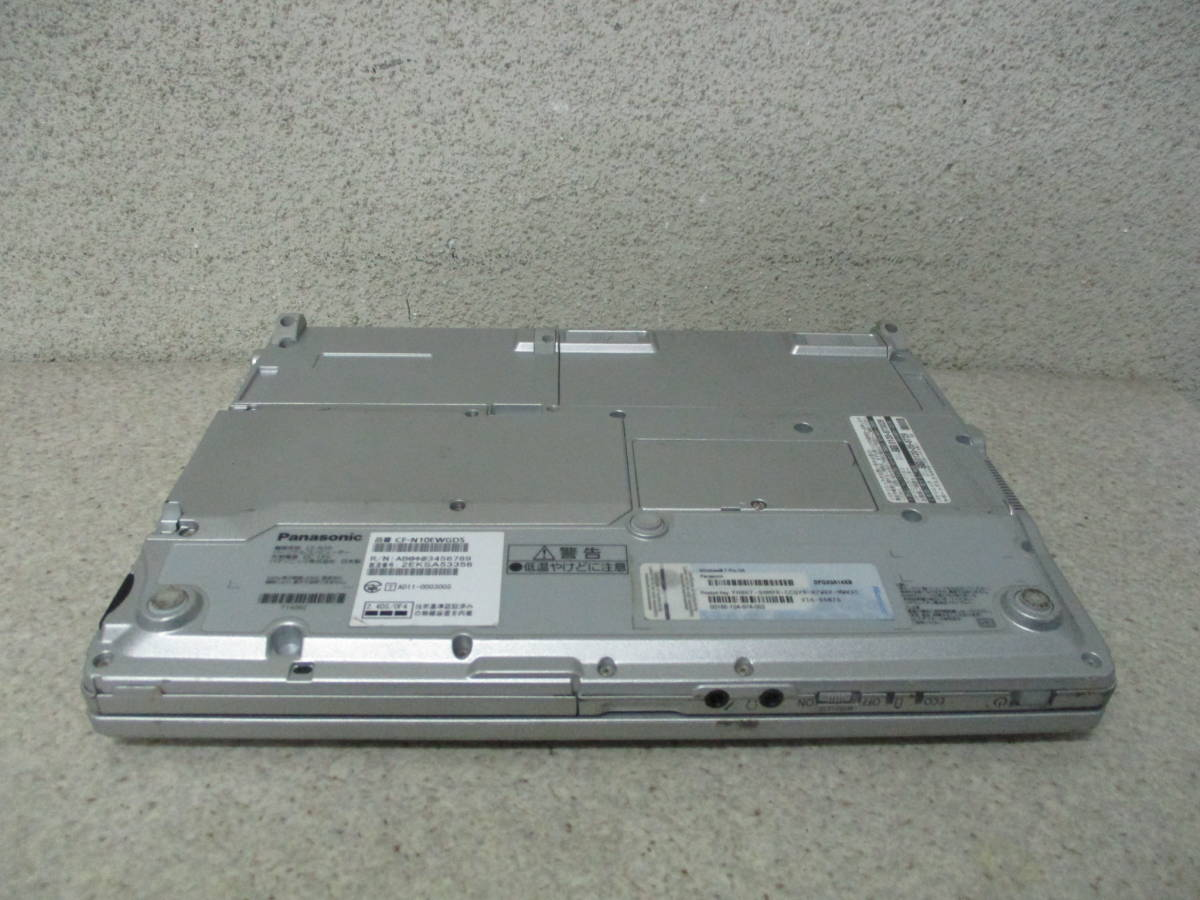 77★☆Panasonic Let's note CF-N10(CF-N10EWGDS) Core i5 2540M 2.6GHz/4GB/320GB ジャンク☆★_画像4
