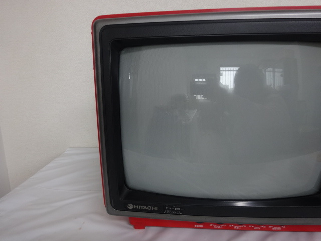 1597★ HITACHI 日立カラーテレビ C14-120 未確認 ジャンク_画像2