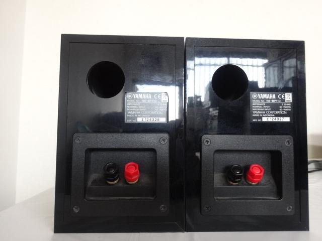 1613★ YAMAHA/ヤマハ CRX-330 NS-BP110 CDコンポ スピーカーセット ジャンク_画像8