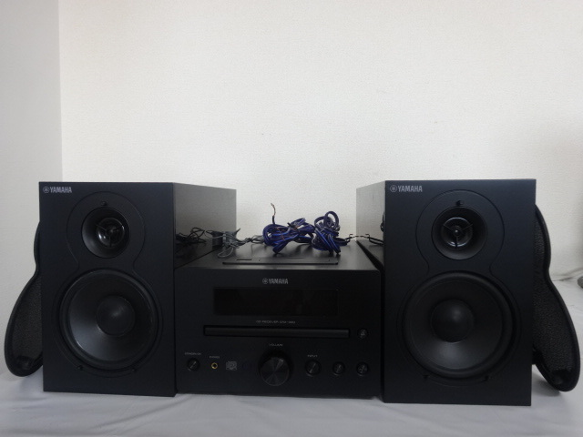 1613★ YAMAHA/ヤマハ CRX-330 NS-BP110 CDコンポ スピーカーセット ジャンク