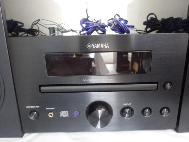 1613★ YAMAHA/ヤマハ CRX-330 NS-BP110 CDコンポ スピーカーセット ジャンク_画像6