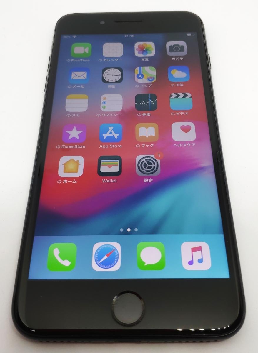 SIMフリー●日常使用無し●iPhone7 plus 128GB ブラック●バッテリー新品同様