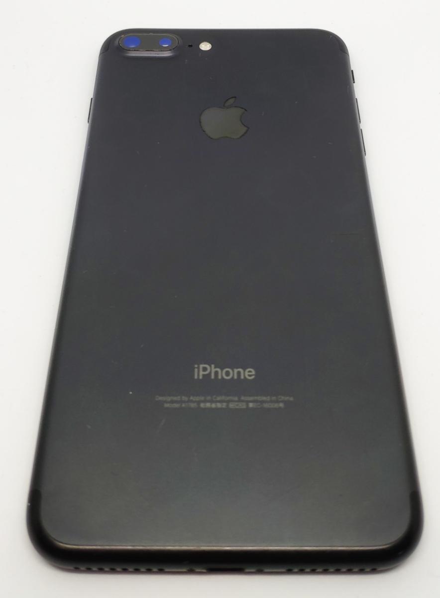 SIMフリー●日常使用無し●iPhone7 plus 128GB ブラック●バッテリー新品同様_画像2