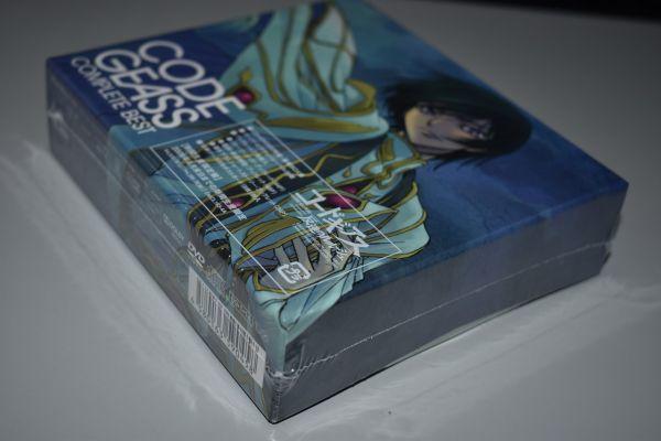 60/1G42★未開封 期間生産限定盤 コードギアス 反逆のルルーシュ CODE GEAS COMPLETE BEST CD+DVD_画像5