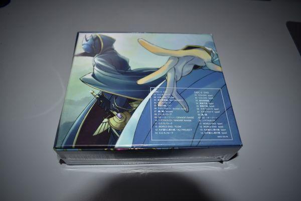 60/1G42★未開封 期間生産限定盤 コードギアス 反逆のルルーシュ CODE GEAS COMPLETE BEST CD+DVD_画像2
