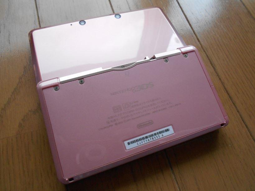 Nintendo 任天堂 ニンテンドー 3DS本体 ピンク_画像6