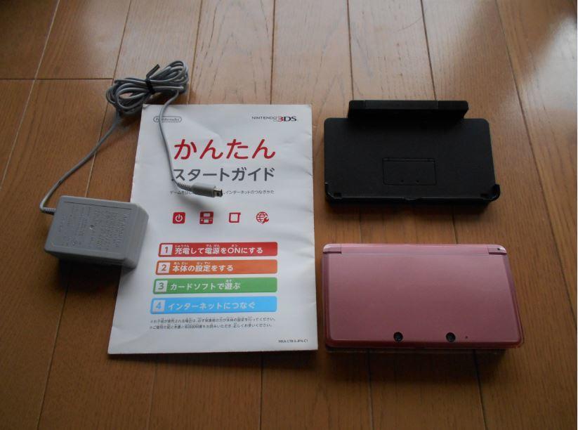 Nintendo 任天堂 ニンテンドー 3DS本体 ピンク_画像3