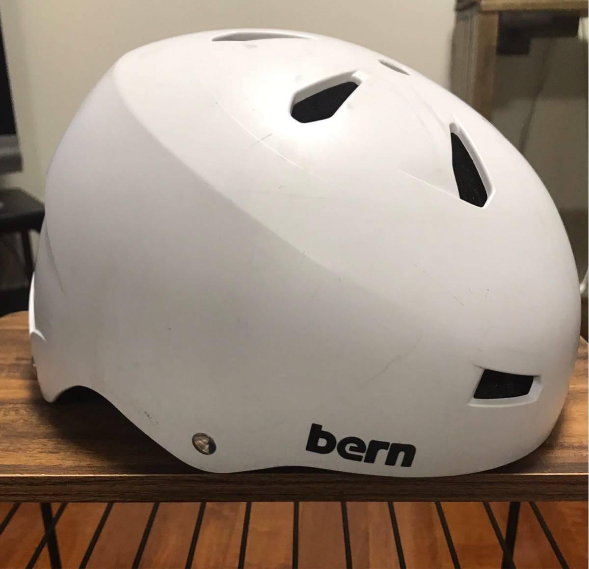 希少サイズXXXL bern ヘルメット 中古