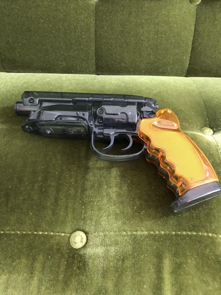 Fullcock 高木型 弐〇壱九年式 爆水拳銃 通常版 クリアブラック カラー ポリスチレン製 ウォーターガン ブレードランナー ブラスター