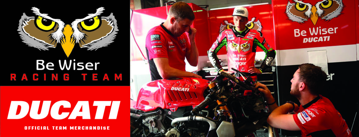 ラスト! 正規品 【Be Wiser DUCATI】 British Super Bike PBM Ducati オフィシャル ポロシャツ 【L】 本物(検:motoGP Ducati Racing )_画像10