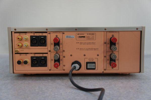 A0300サ14G] SANSUI サンスイ B-2103 MOS VINTAGE パワーアンプ_画像5