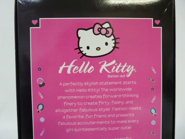 Hr49 Matel マテル Barbie Collector lPink Label Hello Kitty バービーキティドール バービーコレクター ピンクラベル L4687_画像7